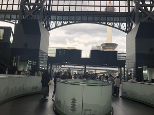 京都駅店(日本旅行TiS京都支店内)への行き方1