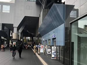 京都駅店(日本旅行TiS京都支店内)への行き方2