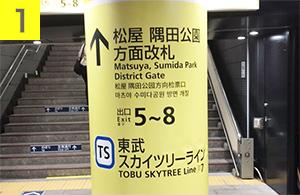 浅草本店への行き方1